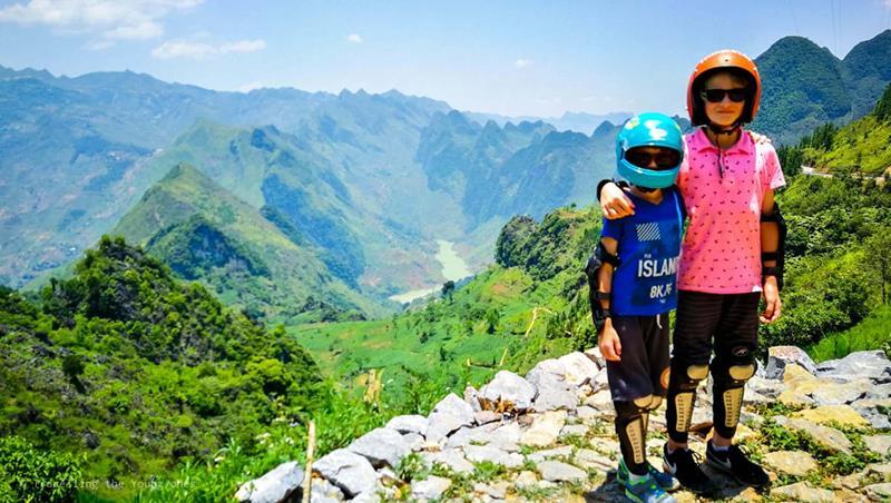 ha giang loop met kinderen, vietnam, wereldreis, motorloop, reizen met kinderen, worldschooling, homeschooling, afstandsonderwijs, backpacken met kinderen
