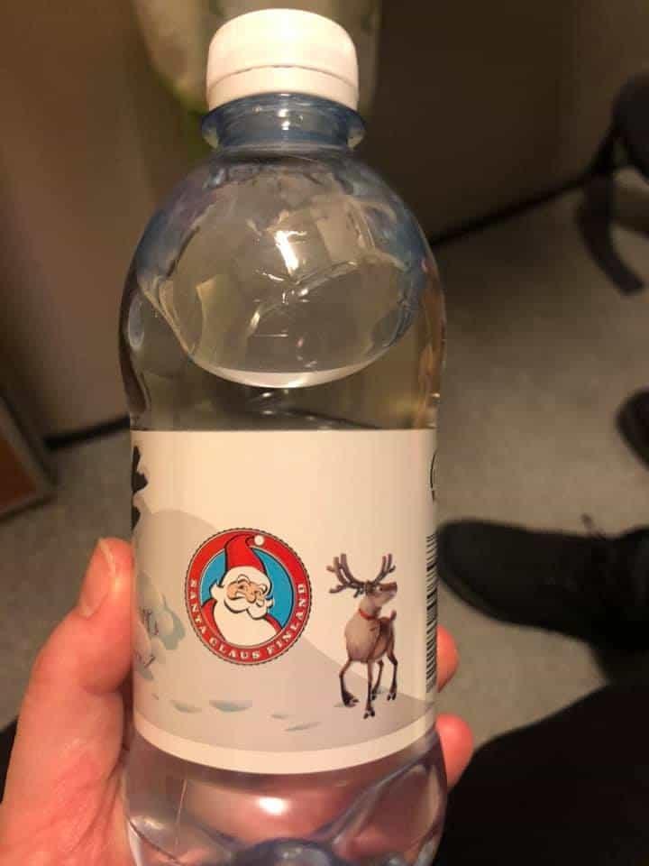 The santa claus express water