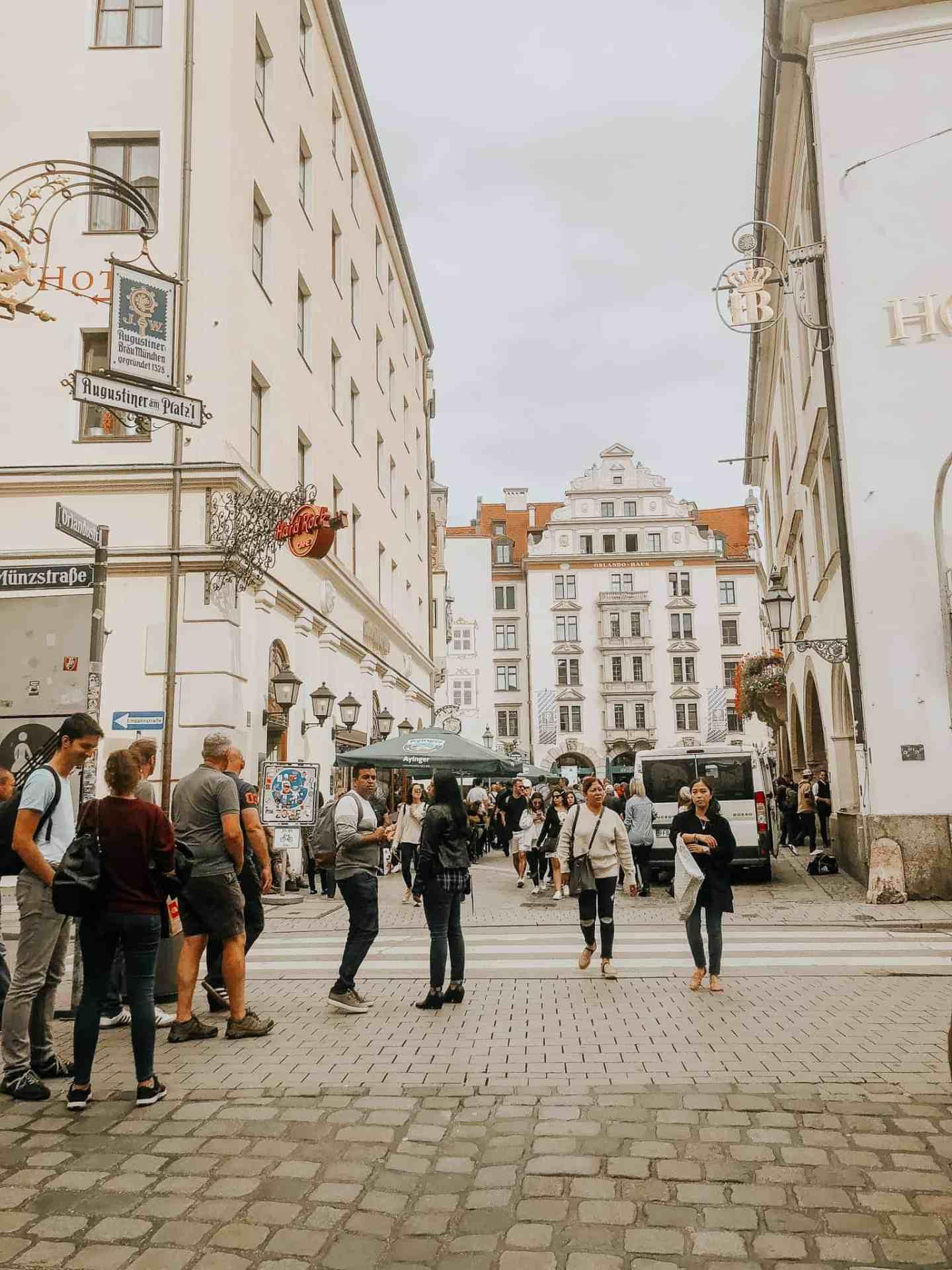 Free walking tour in Munich