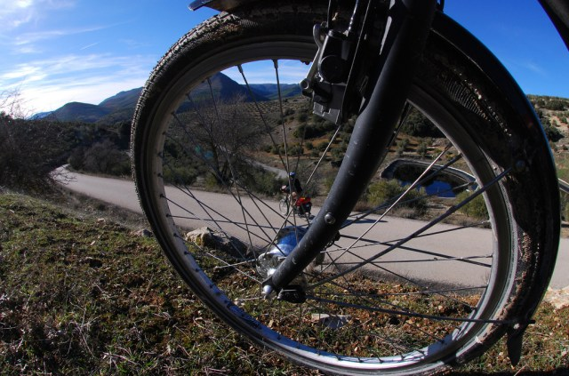 Rough tracks might require an expedition-grade tire. On smooth roads you can get away with a lighter, faster tire.