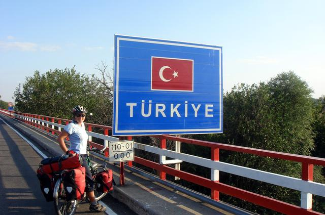 Cycling into Turkey