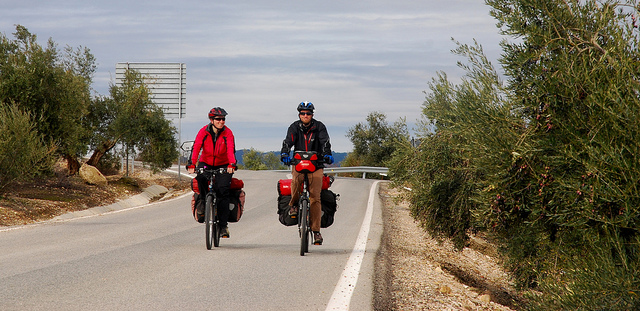Lightweight cycling in Andalucia.