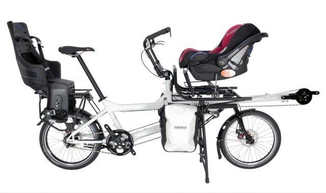 Our newest bike is the British made Circe Morpheus, a real family bike for touring and commuting.