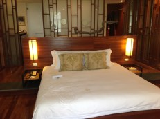 The bedroom at The sarojin