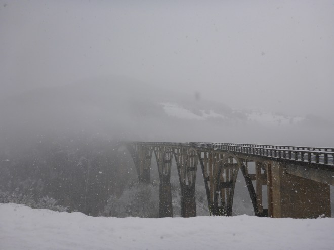 Bridge over Tara Canyon