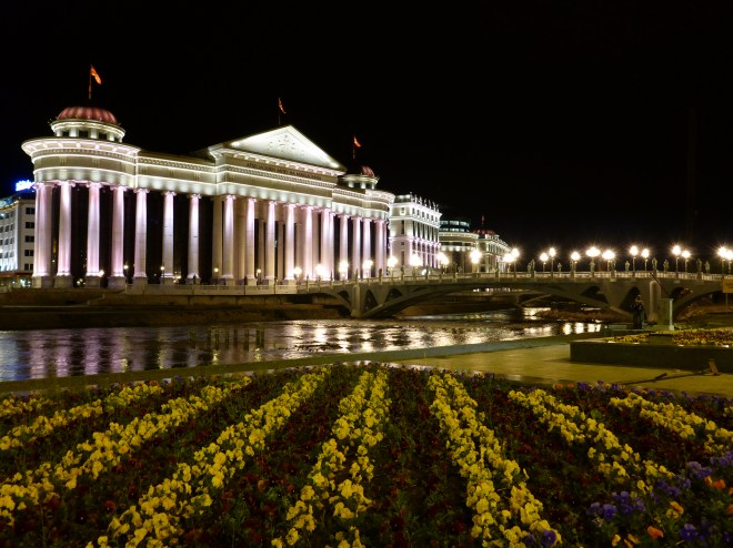 Skopje by night 3
