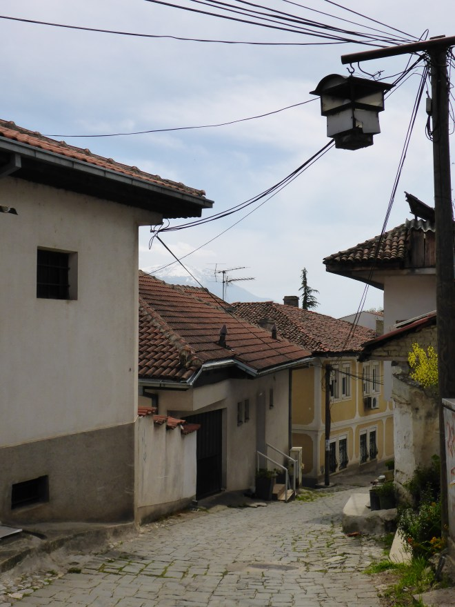Charming street in Ohrid 3