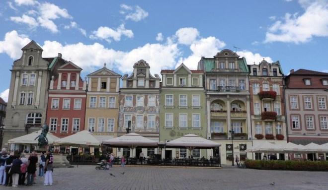 Poznan market square 4