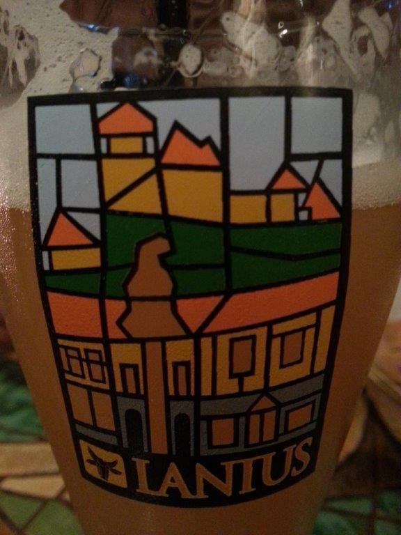 Tasty beer at Trenčiansky pivovar Lanius in Trencin