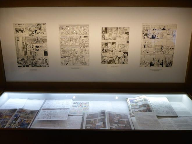 Comic strips in Brussels Belgium2