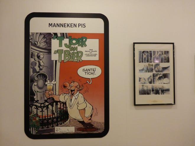 Comic strips in Brussels Belgium5