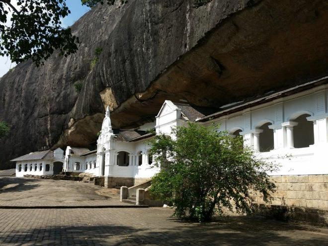 The Rock Temple of Dambulla