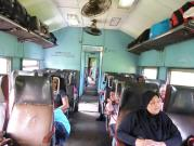 2nd class on the train from Colombo to Polonnaruwa.