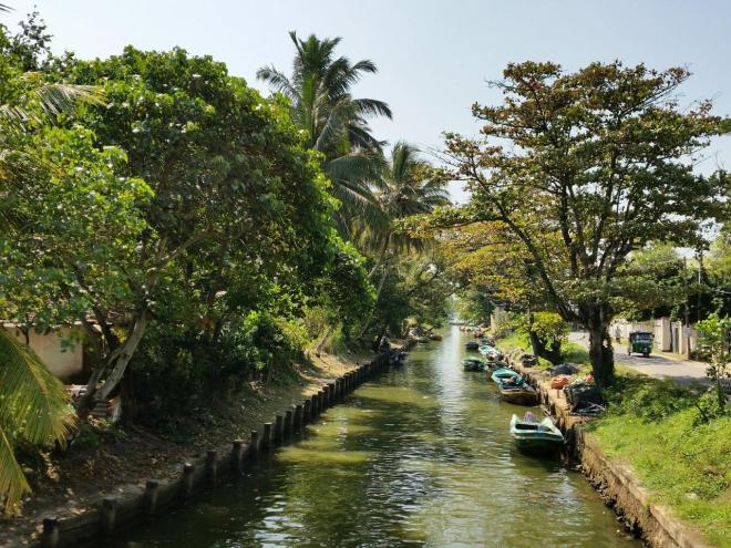 The Dutch Canal in Negombo, Sri Lanka