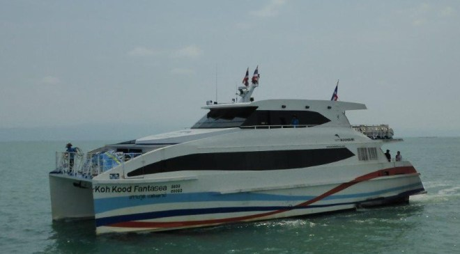 Boonsiri Catamaran between Trat and Koh Kood/Koh Kut