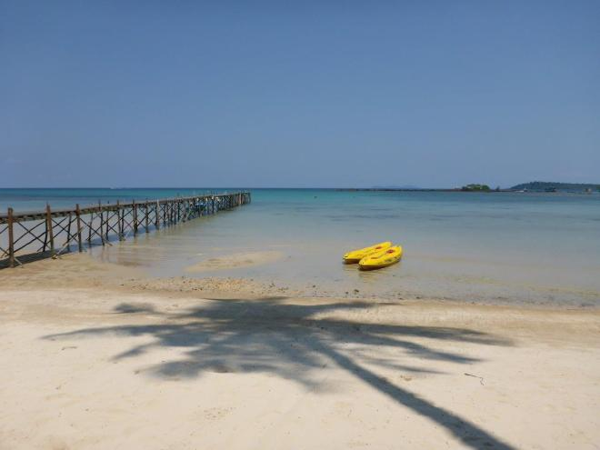 Time for some kayaking at Dusita Resort, Koh Kood