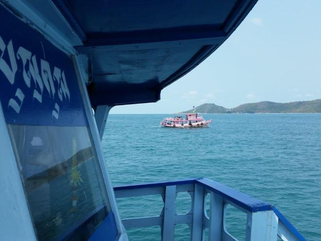 And a pink boat from Koh Samet