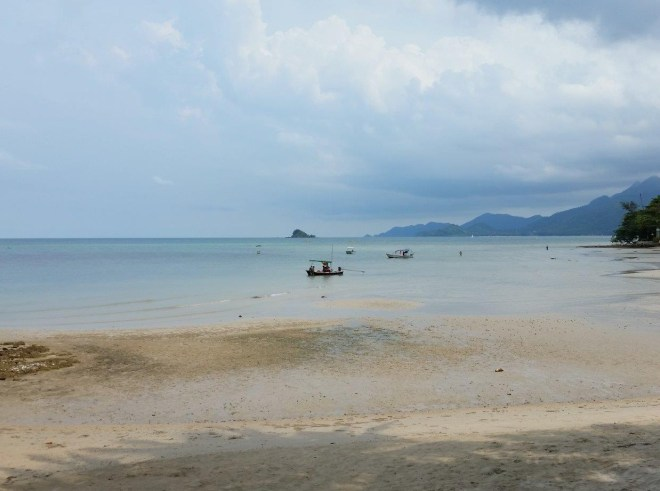 Beach at Siam Bay Resort, Koh Chang