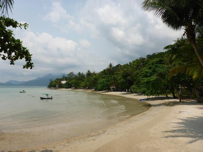 Beach view at Siam Bay Resort, Koh Chang