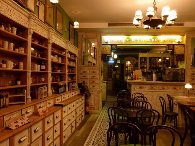 Dr. Jekelius - Pharmacy Café in Brasov old town
