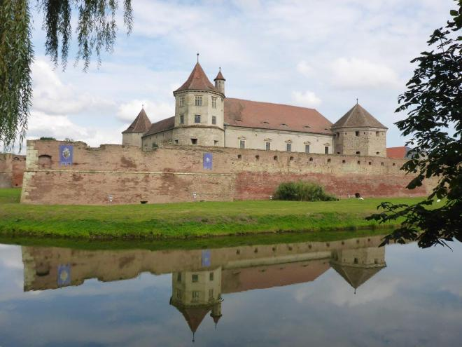 The castle in Fagaras