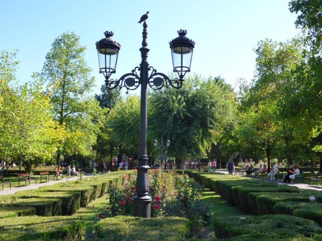 The park in Brasov