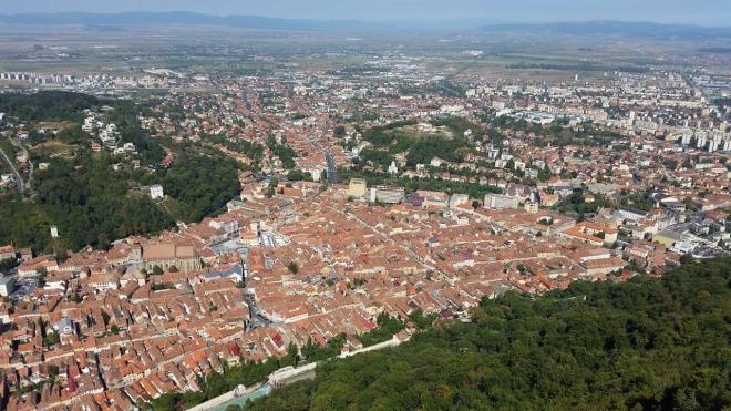 View of Brasov seen from Tampa