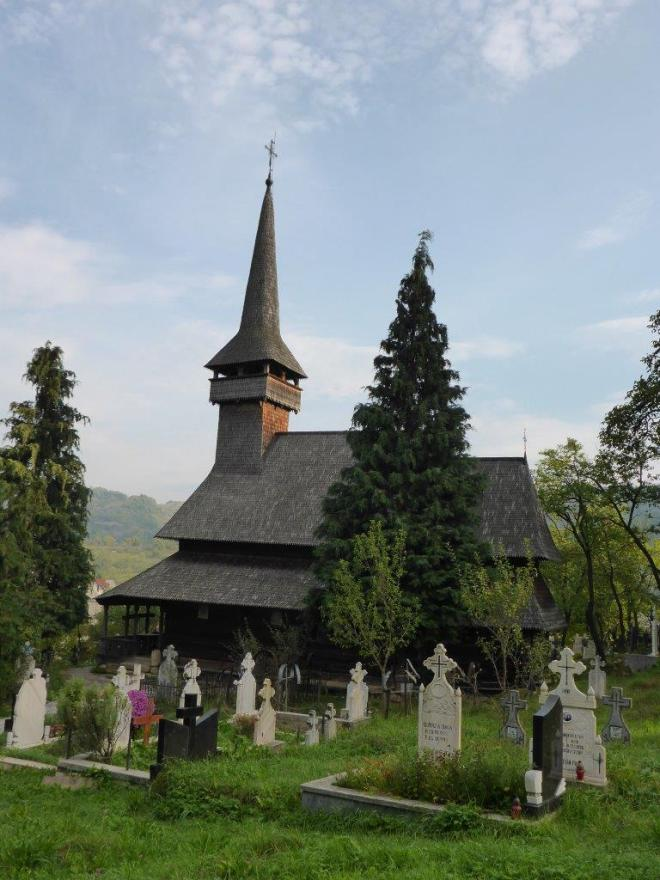 Poienile Izei, one of The wooden Churches of Maramureş, Romania on the UNESCO World Heritage list