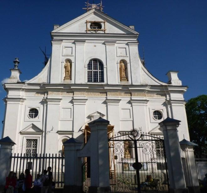 Niasvizh Corpus Christi church, Belarus
