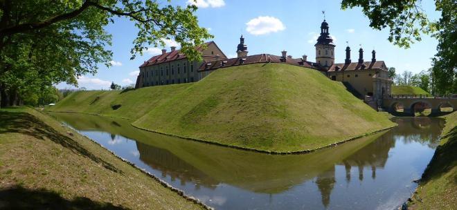 Niasvizh palace in Belarus2