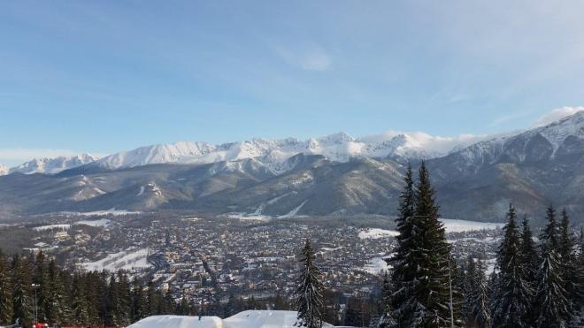 View from Gubalowka. Zakopane, Poland