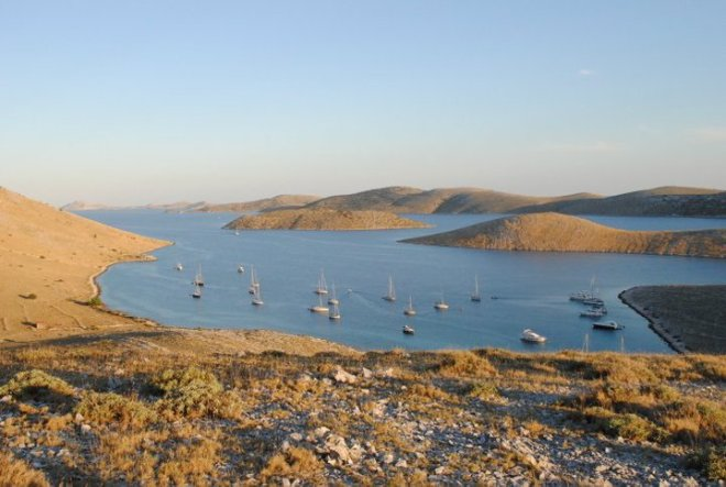 Bay of Kornat Island. Kornati, Croatia