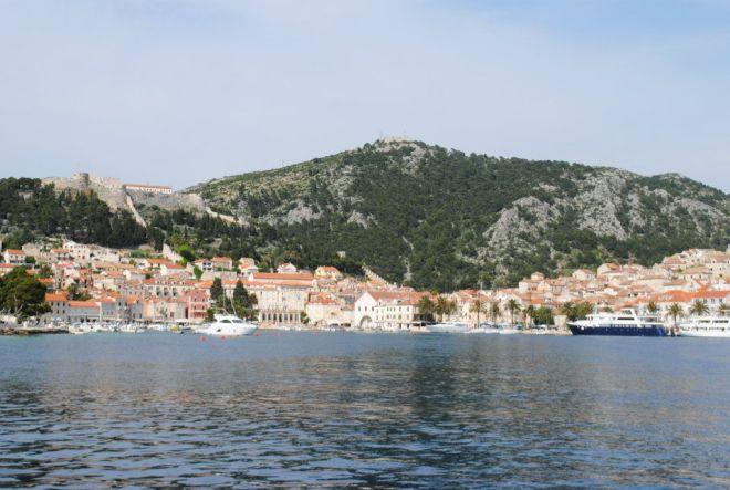 Hvar harbor, Hvar Island, Croatia