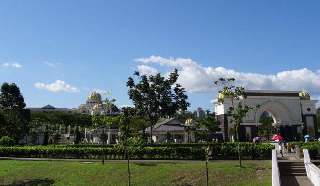 The National Palace in Kuala Lumpur, Malaysia