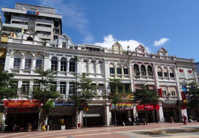 The Old Market Square in Kuala Lumpur, Malaysia