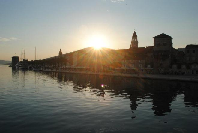 Trogir harbor, Croatia