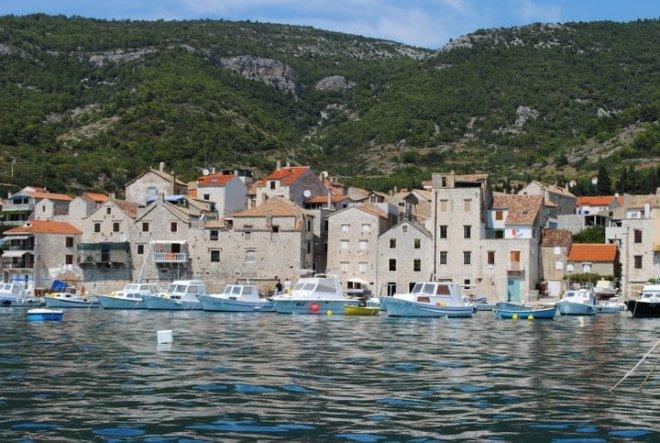 Vis town, Vis island, Croatia