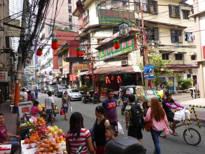 Chinatown in Manila, Philippines