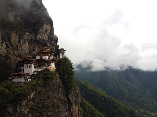 Tiger's Nest. Paro Taktsang. Bhutan.