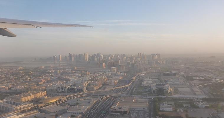 Flying Emirates via Dubai