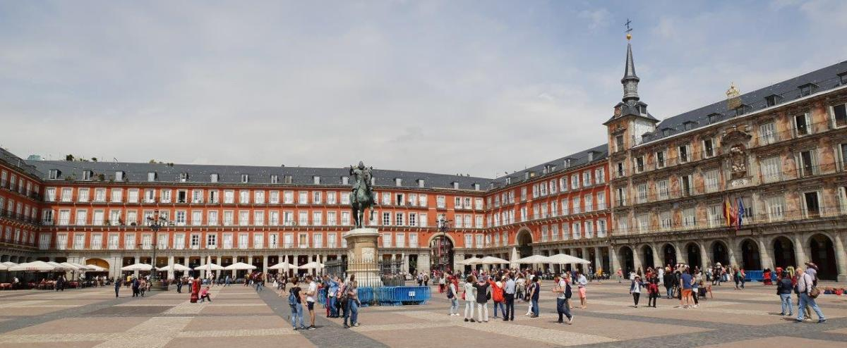 Plaza Major. Secret Food Tours Madrid, Spain