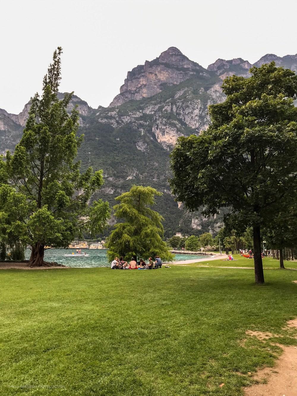 Riva del Garda, Jezioro Garda wakacje z dziećmi