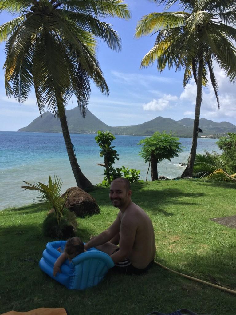 Karaiby z dzieckiem rodzinny podróż na Martynikę