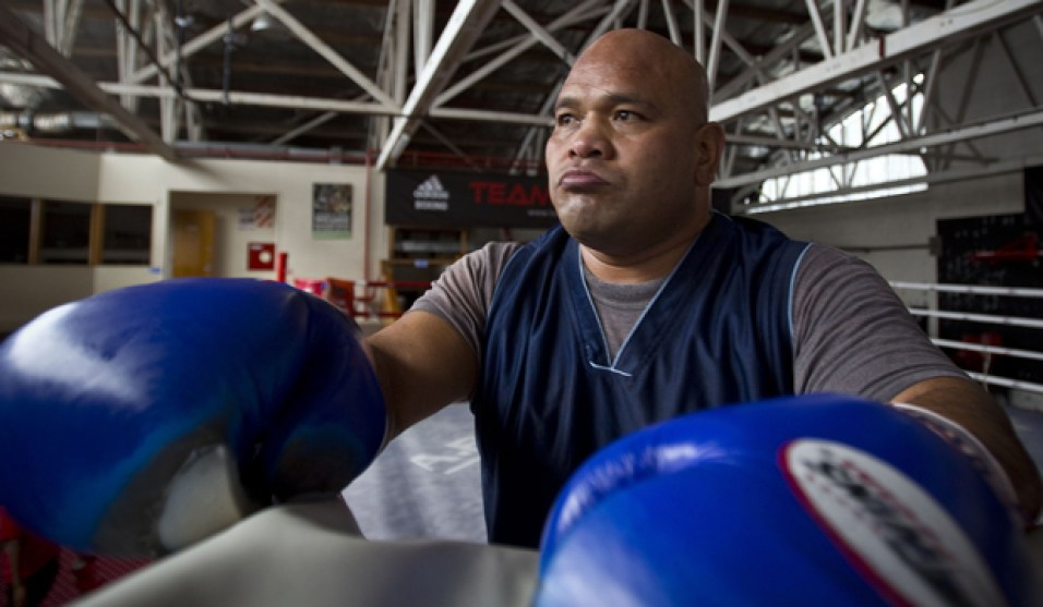 Big Tongan Boxer