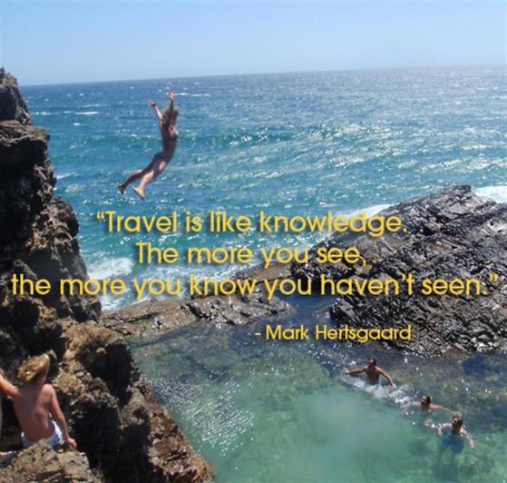 Travel is Like Knowledge