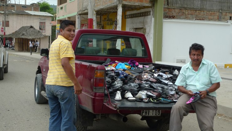 P1020744 Truckload of Shoes