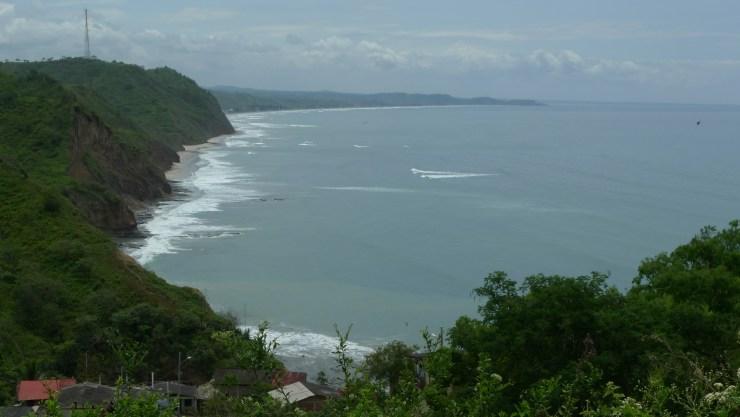 P1020827 Village overlooking Ocean