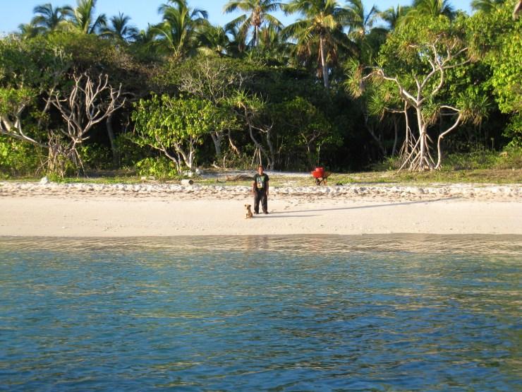 Approaching Uoleva Island
