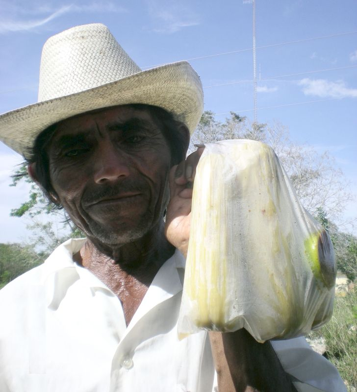 Mex - 08 661 - Old Man Selling Corn 2