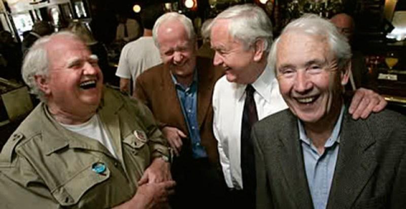 Irish Men in Bar Laughing